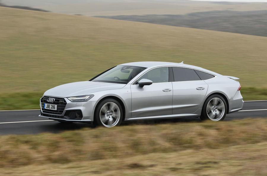 Audi A7 dynamic