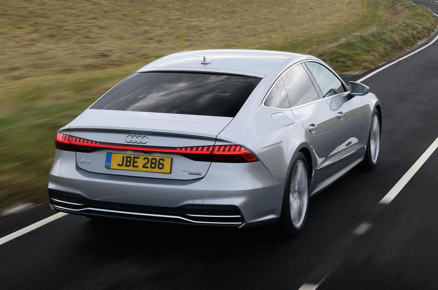 audi a7 sportback 50 tdi 2018 uk review autocar. Black Bedroom Furniture Sets. Home Design Ideas