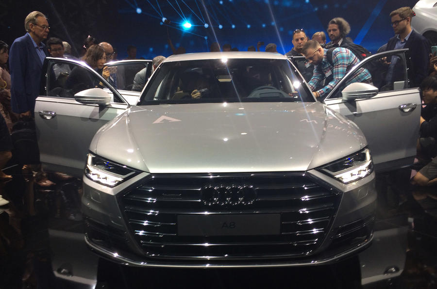 The New Audi A8 Is The First Of Five Models Audi Will Launch In The Coming  Year