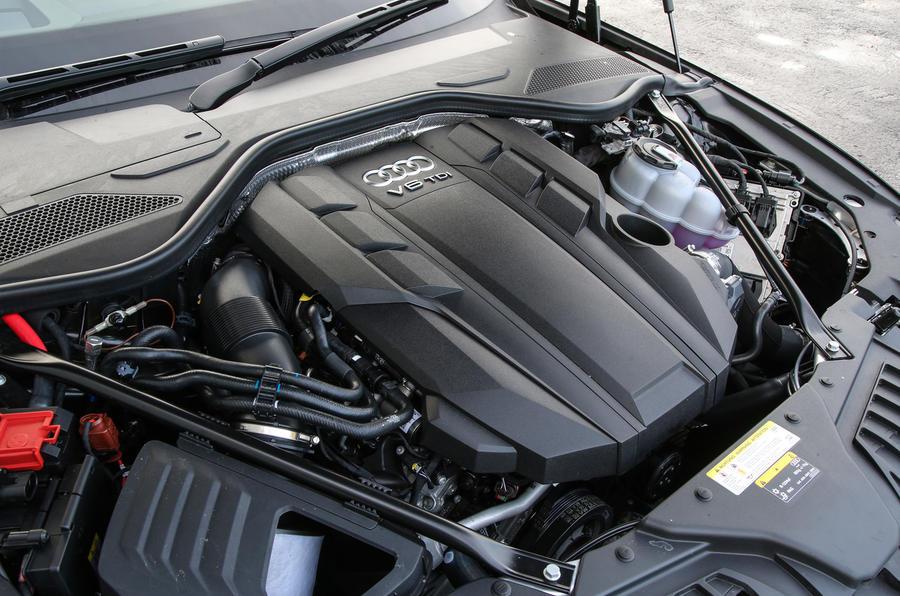 3.0-litre V6 Audi A8 50 TDI engine