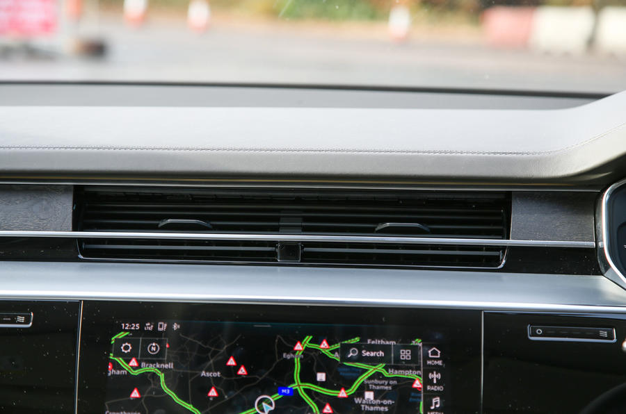 Audi A8 50 TDI revealed air vents