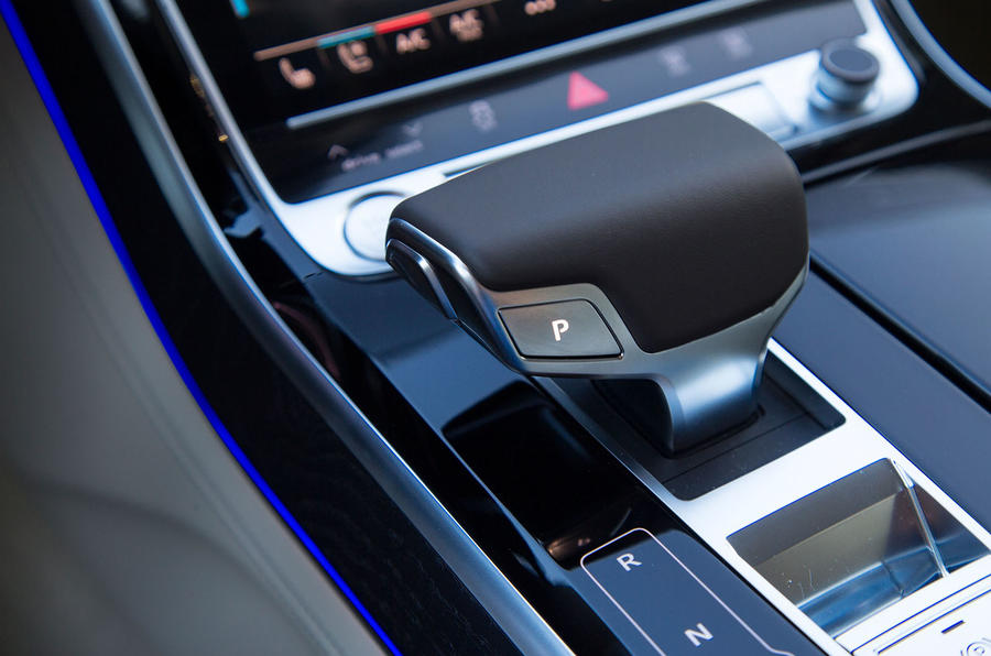 Audi A8 automatic gearbox