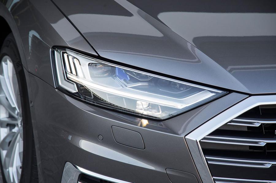 Audi A8 headlights