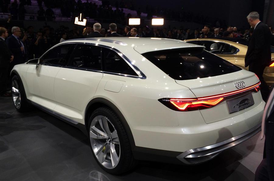 Audi Prologue Allroad Concept Breaks Cover At Shanghai Show Autocar
