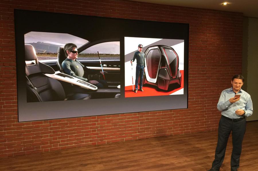 Audi Geneva motor show