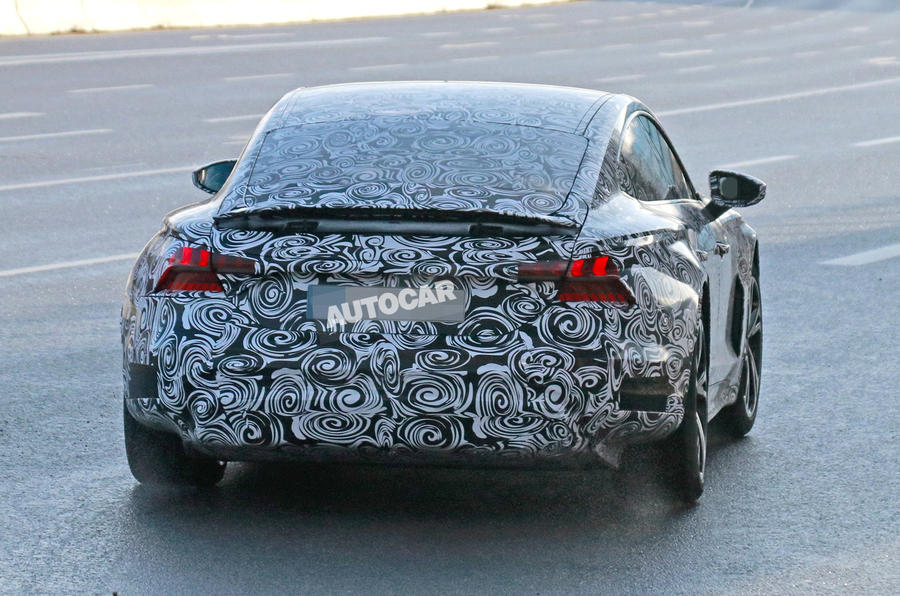 2021 Audi E-tron GT camouflaged prototype - rear