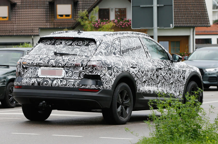 Electric Audi E-tron SUV