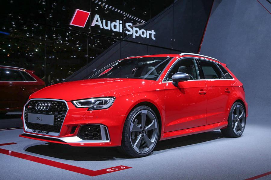 Updated Audi Rs3 Hatch Gets 394bhp Autocar