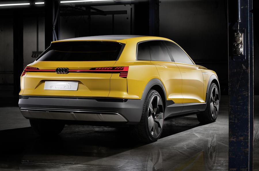 Audi h-tron concept Detroit