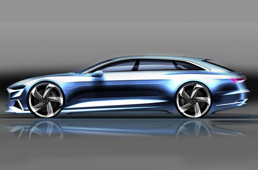 Audi Prologue Avant Concept Shows New Estate Styling Autocar