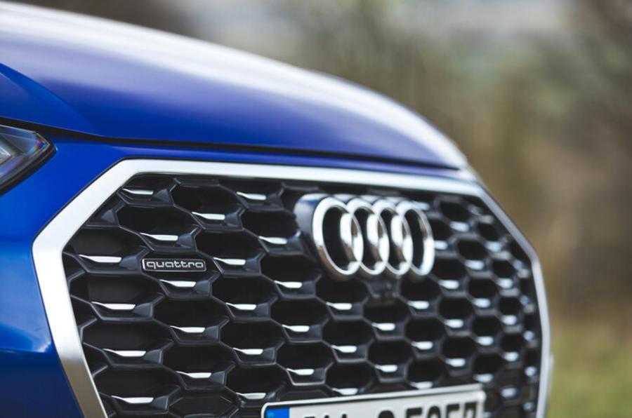Calandre de l'Audi Q5 Sportback