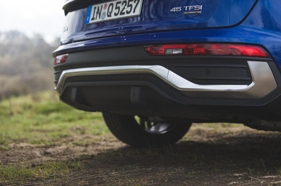 Pare-chocs arrière de l'Audi Q5 Sportback