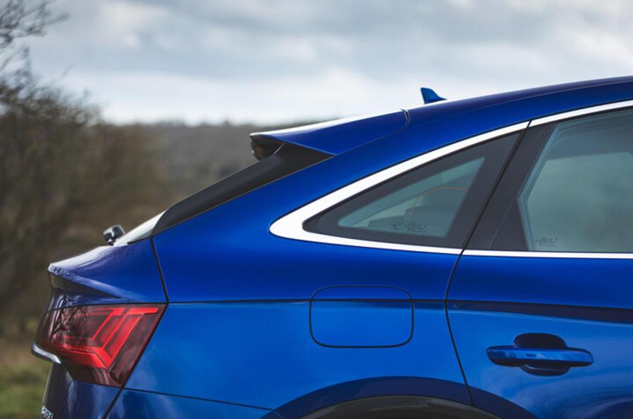 Audi Q5 Sportback arrière