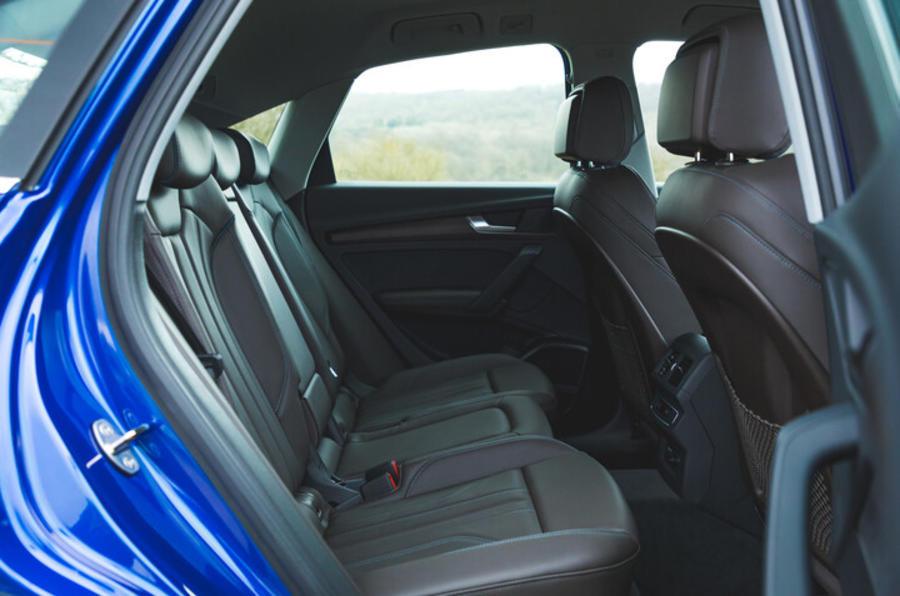 Sièges arrière de l'Audi Q5 Sportback
