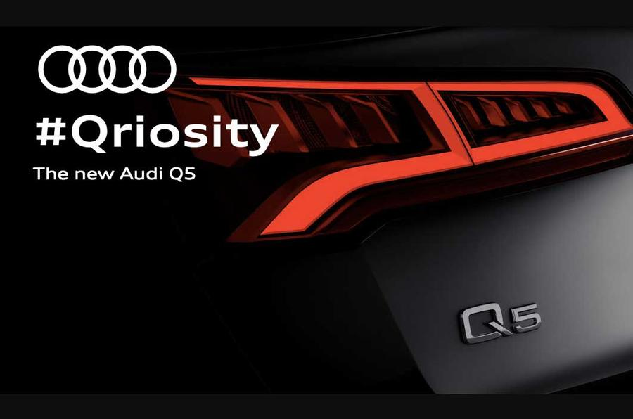 2017 Audi Q5 teaser confirms it'll get adjustable air suspension | Autocar