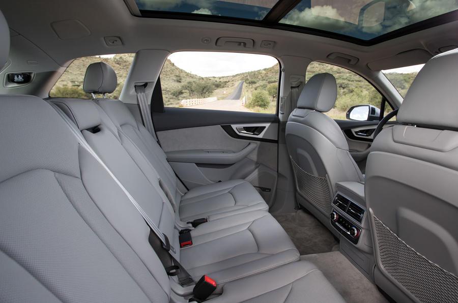 Audi Q7 rear seats