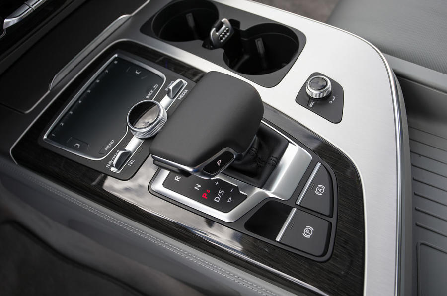 Audi Q7 automatic gearbox