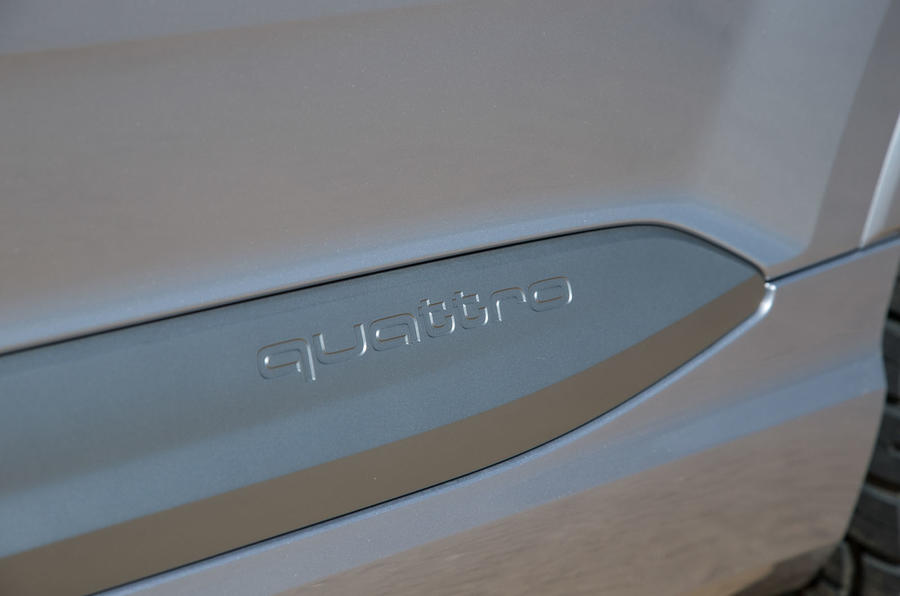 Audi Q7 quattro side sills