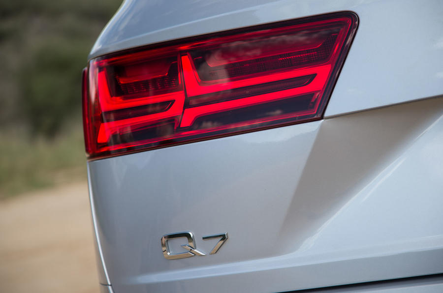 Audi Q7 rear lights