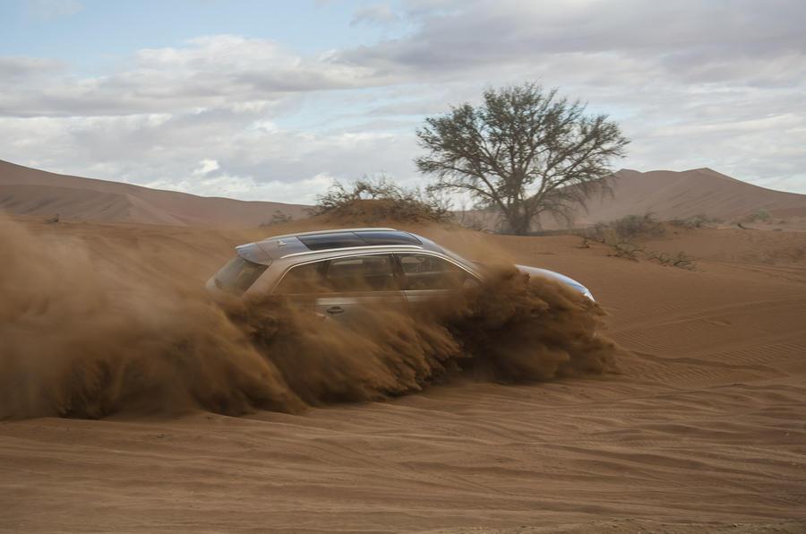 Audi Q7 off-roading