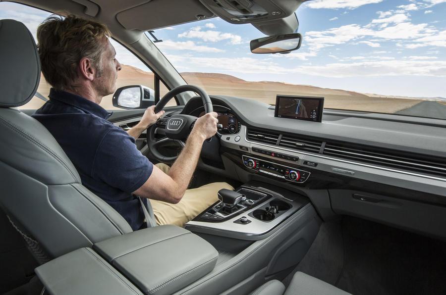 Driving the Audi Q7