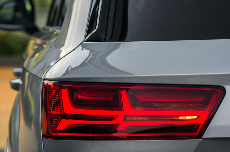 Audi Q7 LED rear lights