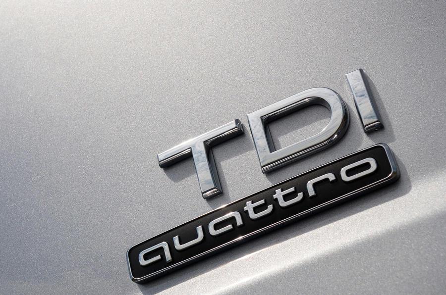 Audi Q7 TDI quattro badging