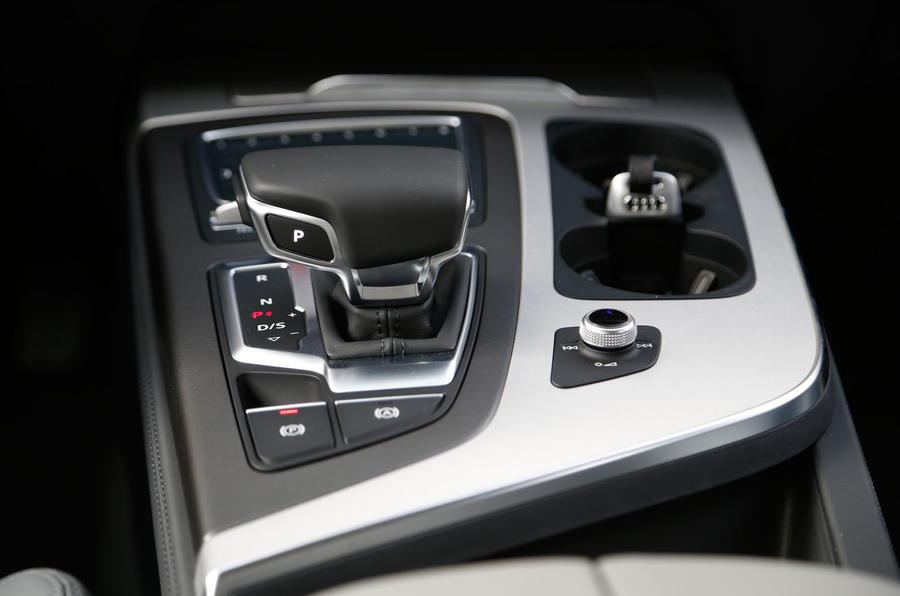 Audi Q7 automatic gearbox