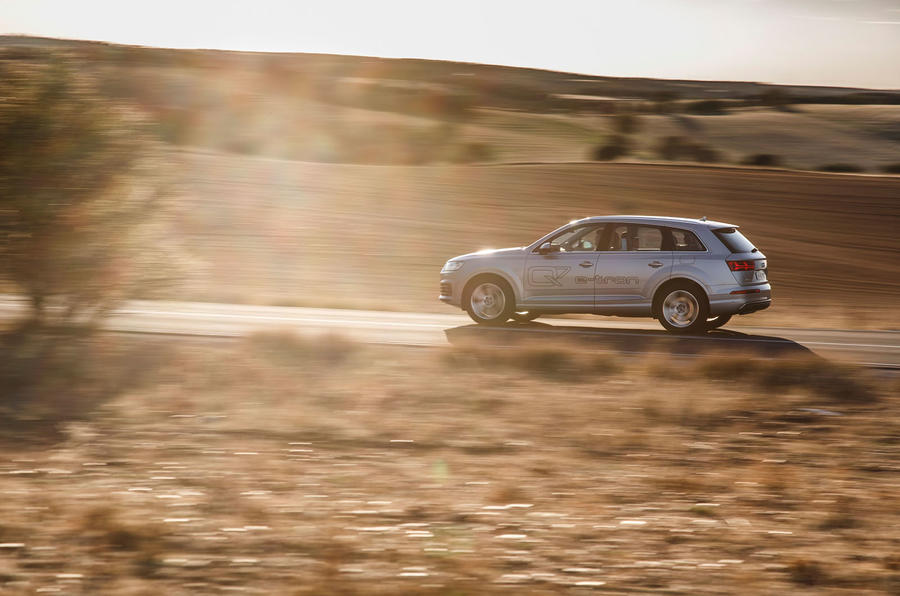 £65,000 Audi Q7 e-tron