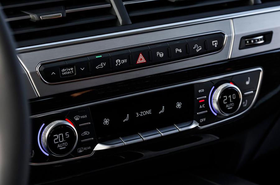 Audi Q7 e-tron climate control