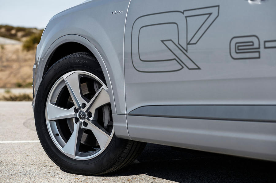 Audi Q7 alloy wheels