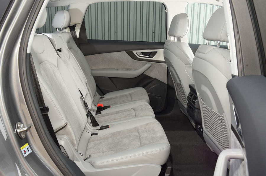 Audi Q E Tron Rear Seats