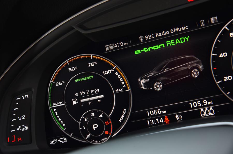 Audi Q7 e-tron Virtual Cockpit