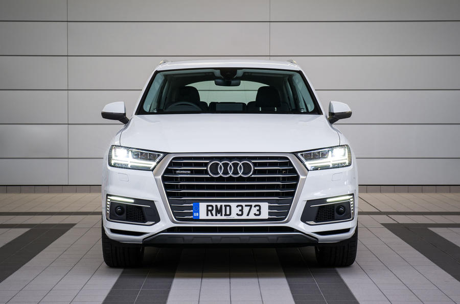 2016 audi q7 e tron review review autocar. Black Bedroom Furniture Sets. Home Design Ideas