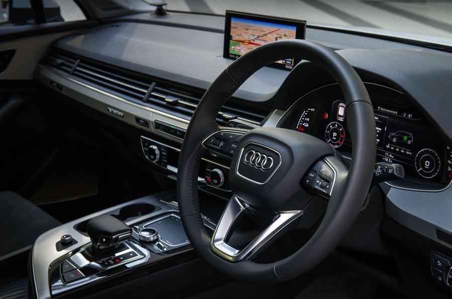 Audi Q7 E Tron >> 2016 Audi Q7 e-tron review review | Autocar