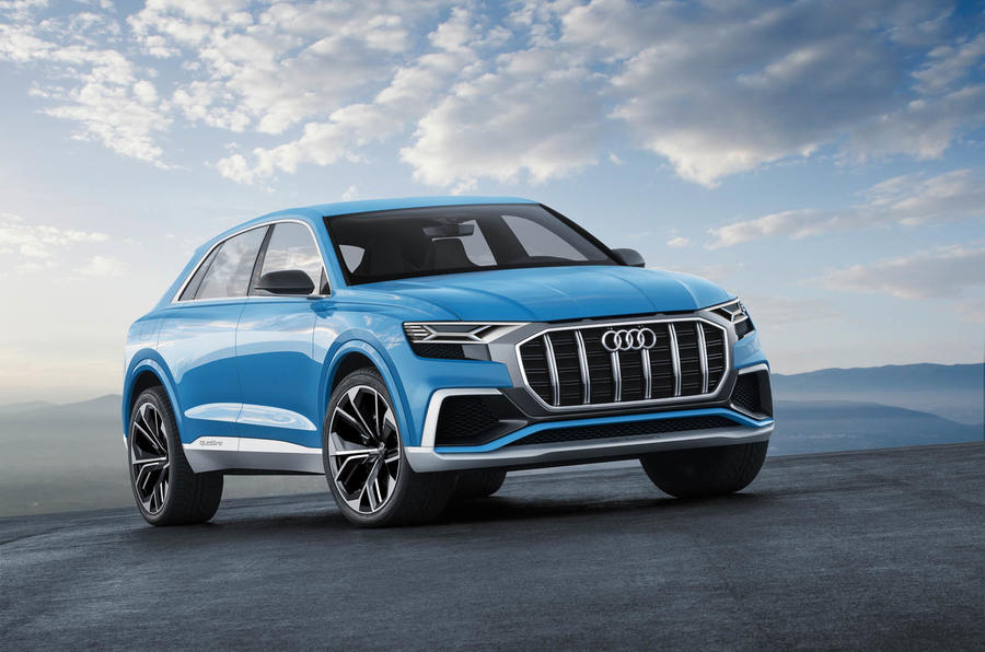 Revealed in Detroit, Audi's new e-tron model mixes bold design with ...