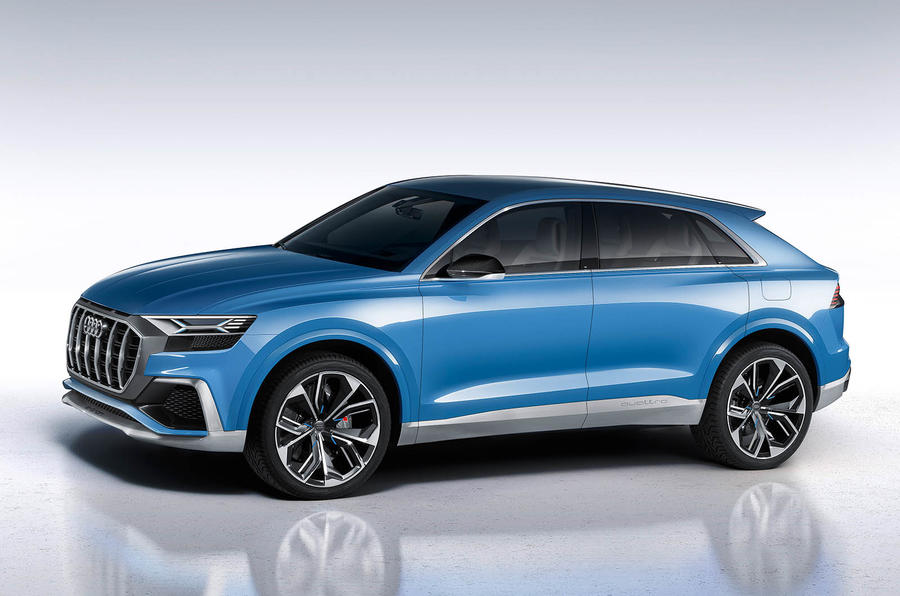 Futuristic Audi Q8 concept previews 2018 flagship model