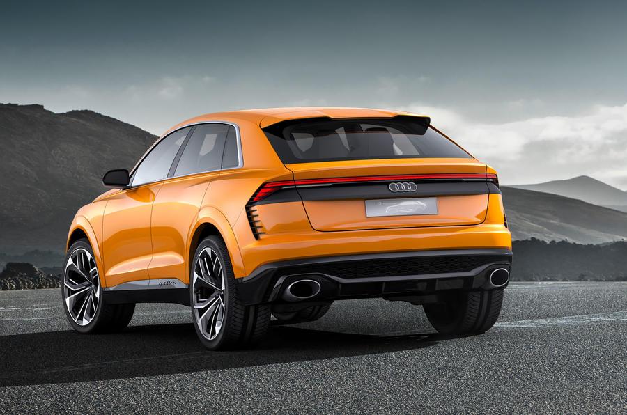 audi q8 sport concept previews range topping large suv autocar