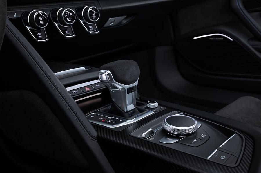 Audi R8 2018 gearlever
