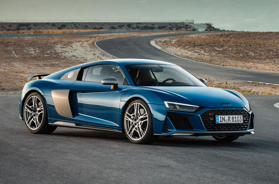 2019 audi r8 revealed with tweaked design and more power