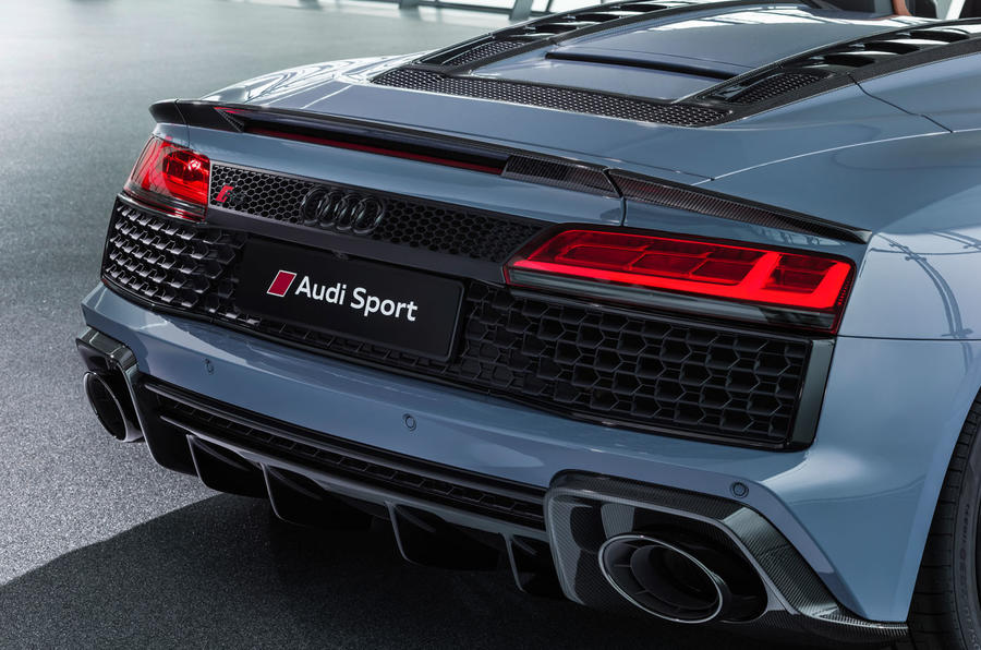 2019 Audi R8 Revealed With Tweaked Design And More Power Autocar