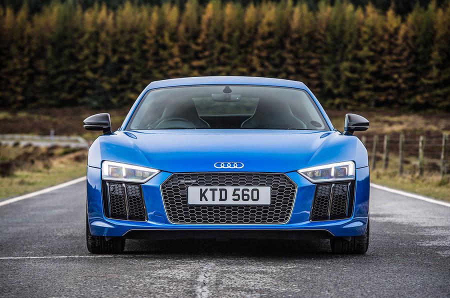 Audi R8 V10 Plus nose