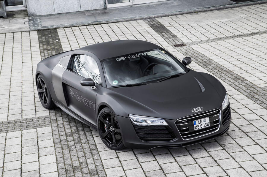 2015 audi r8 e tron prototype review review autocar. Black Bedroom Furniture Sets. Home Design Ideas
