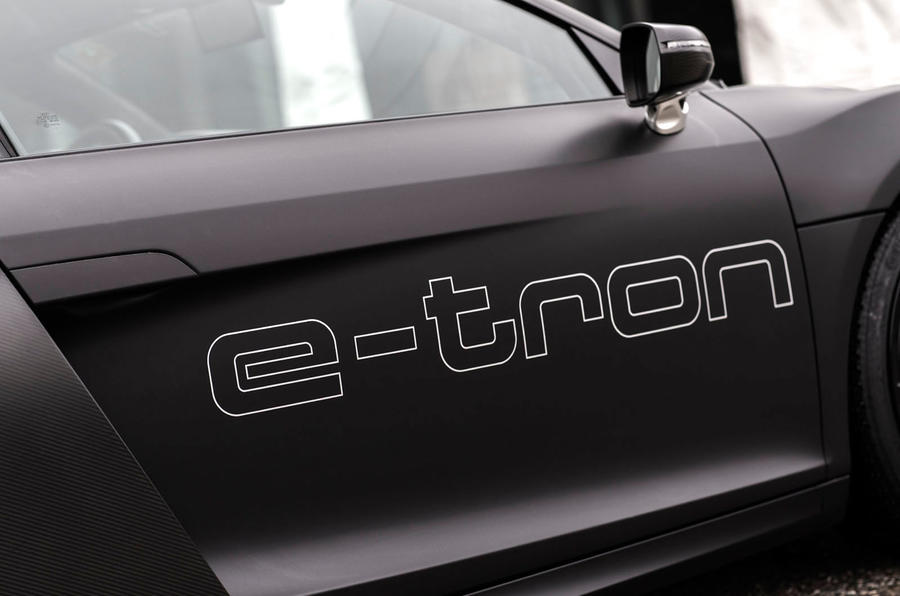 Audi e-tron decals