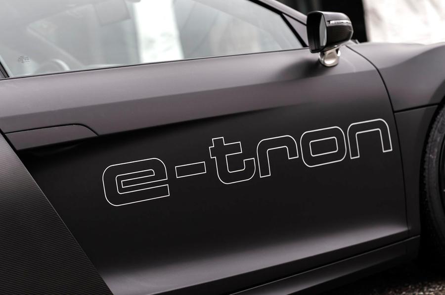 Audi e-tron decals