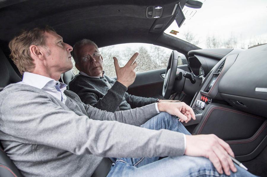 Driving the Audi R8 e-tron