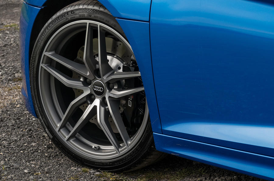19in Audi R8 V10 alloys