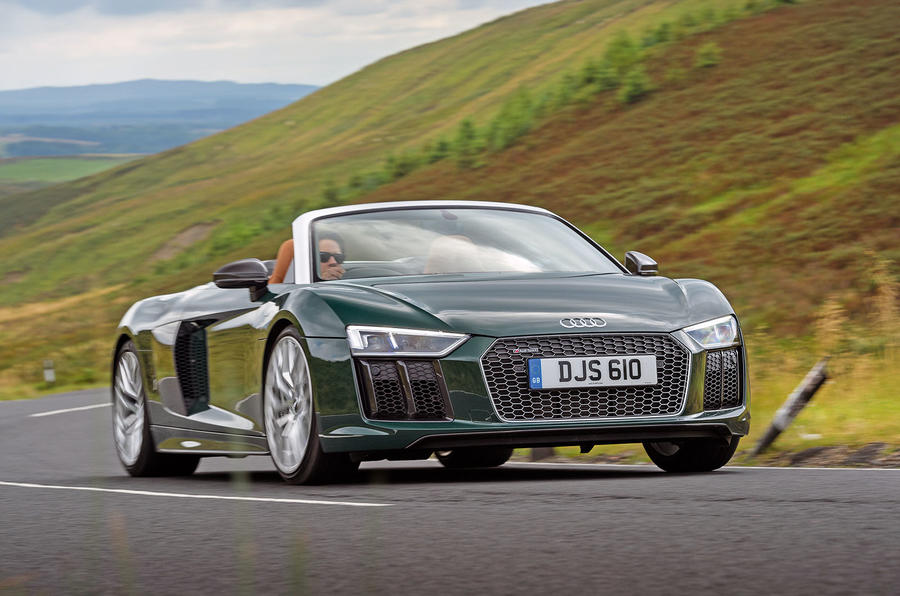 audi r8 spyder v10 plus 2017 review | autocar