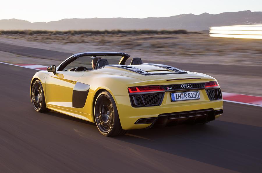 Audi R Spyder V On Sale For Autocar - Black audi r8