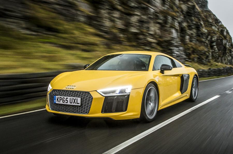 The Audi R8 Plus tackles the UK roads for the first time
